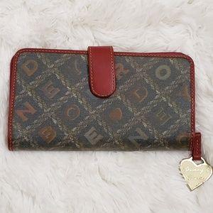 DOONEY & BOURKE Leather Crossword Wallet